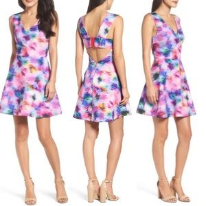 Felicity and Coco Bianca Cut Out Dress